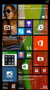 WP8.1 arkaplan görseli